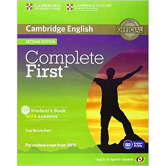 Material COMPLETE FIRST CERT STUDENT+KEY+CD 2ED