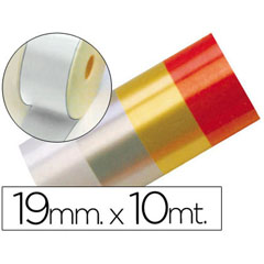 Material CINTA FANTASIA 10 MT X 19 MM BLANCO
