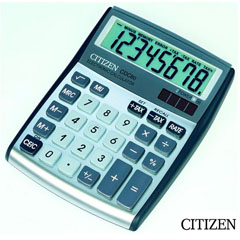Material CALCULADORA CITIZEN CDC-80 8 DIGITOS PLATA (32963)