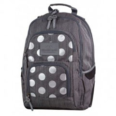 Material MOCHILA UNIT BACKPACK SILVER DOTS 702